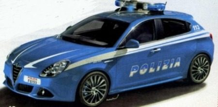 Giulietta Polizia schets