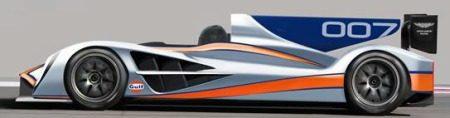 Aston Martin LMP1 racer 2011