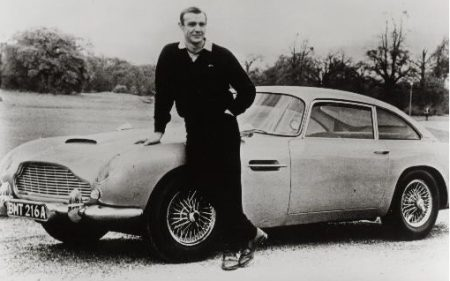 Aston Martin DB5 James Bond-edition