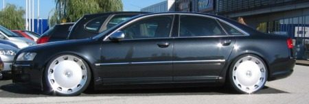 Audi A8 bizarre velgen