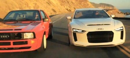 Audi quattro concept vs UrQuattro