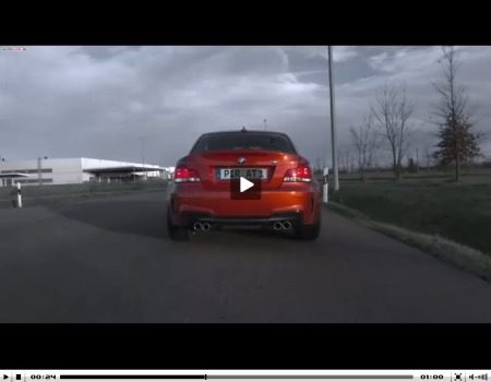 BMW 1 Serie M Coupe video onthulling
