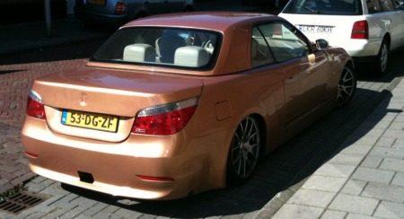 BMW 5 Serie cabrio