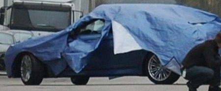BMW M5 F10 zijkant