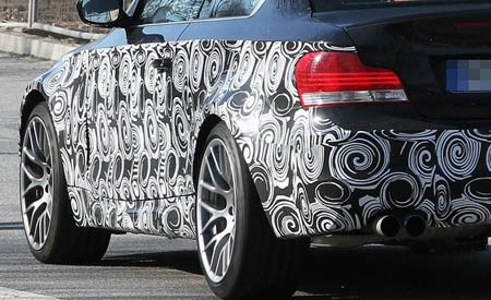 BMW 135is spyshot