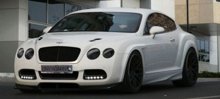 Bentley Continental GT Platinum GTO by ONYX