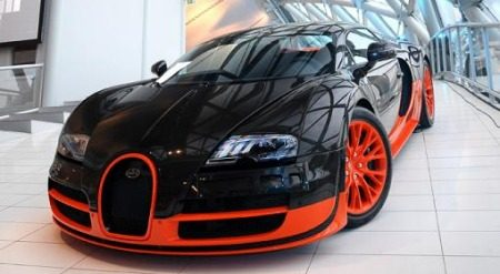 Bugatti Veyron SuperSport World Record Edition in Nederland
