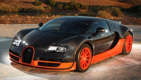 Bugatti Veyron Supersport
