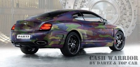 Dartz CA$H.CAMO Bentley Continental GT