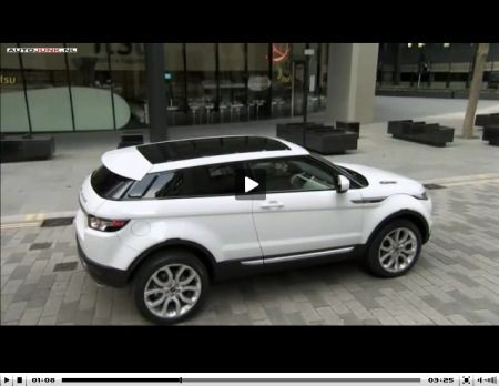 Evoque - best 4x4 voor in de stad...