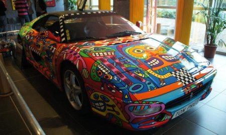 Ferrari F355 GTS Art Car