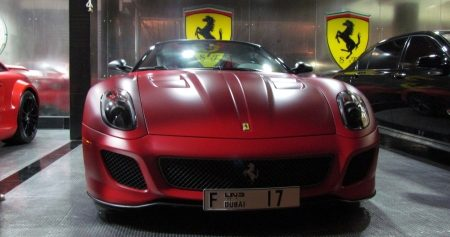 Ferrai 599 GTO in matrood