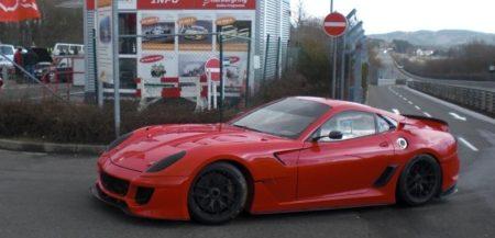 Ferrai 599XX @ Nürburgring
