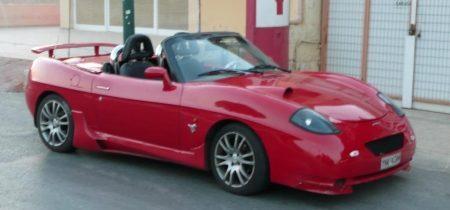 Fiat Barchetta bespiolerd