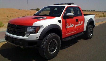 Ford F-150 Raptor politie Abu Dhabi