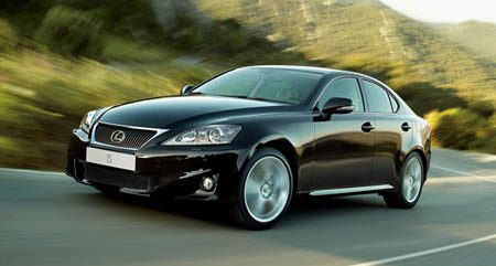 Lexus IS facelift 2011