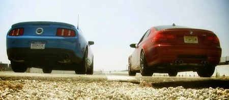 Ford Mustang vs BMW M3