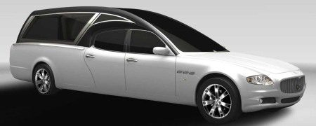 Maserati Quattroporte lijkwagen