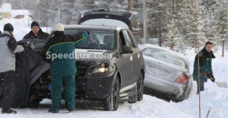 De nieuwe Mercedes ML. Nu met nog minder off-road capaciteiten!