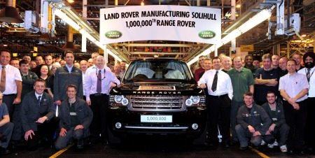 Range Rover no. 1.000.000