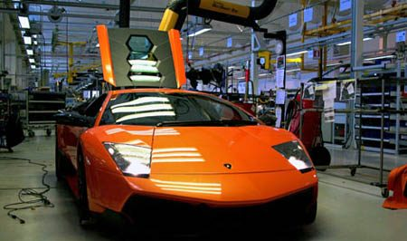 National Geographics Ultimate Factories Lamborghini Murcielago