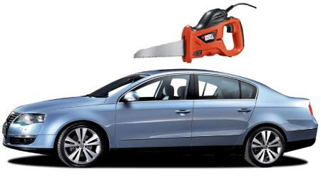Passat cabrio by Black and Decker