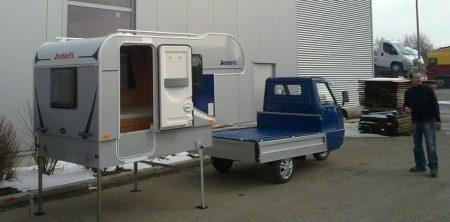 Piaggio APE MOCA Dethleffs camper