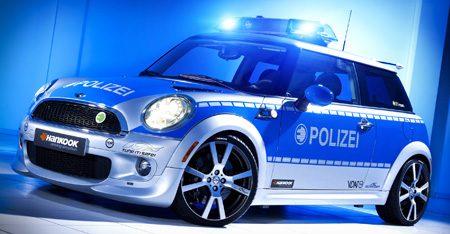MINI E Polizei