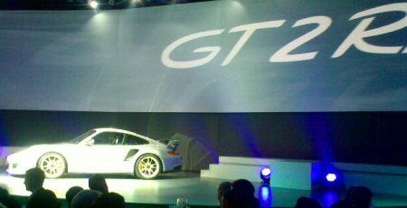 Porsche 911 GT2 RS spyfoto