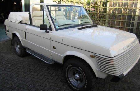 Range Rover Wood & Pickett convertible