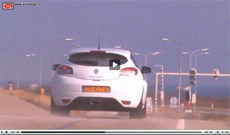 Megane RS video