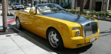 Rolls-Royce Phantom Drophead Coupe Bijan