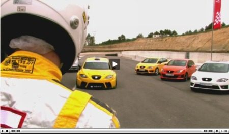 Seat Leon Supercopa en Alguersuari video