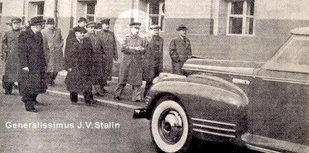 Stalin en zijn auto...