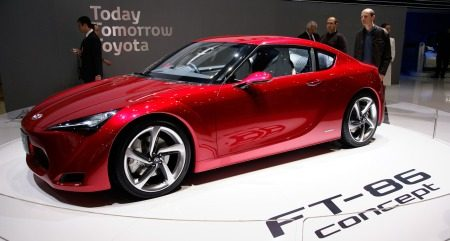 Toyota FT-86 Concept Geneve