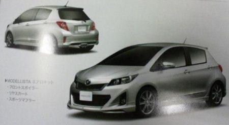 Toyota Yaris met bumperkitje