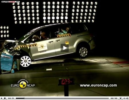 Volkswagen Sharan crashtest