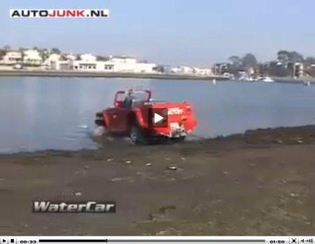 WaterCar Gator video
