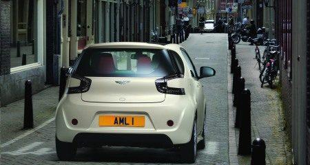 Aston Martin Cygnet in Amsterdam