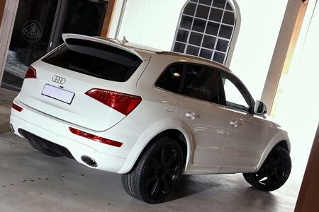 Audi Q5 door Enco in wit