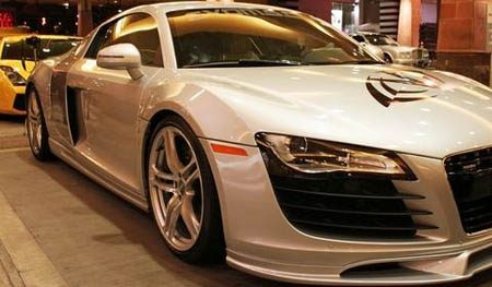Audi R8 V10 door Evolution Motorsports