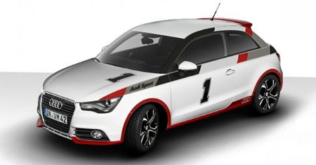 Audi A1 S-line in S1 look