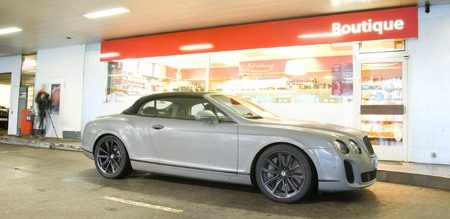 Bentley Continental Supersports Convertible Boutique
