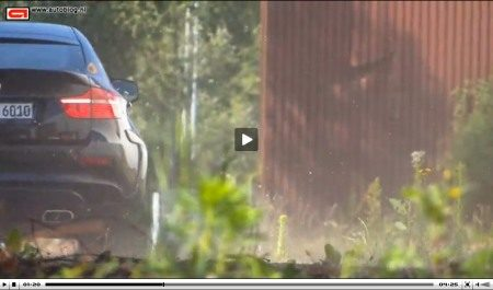 BMW X6M Falcon video