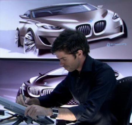 BMW 0 Frontwheeldrive sketches revealed