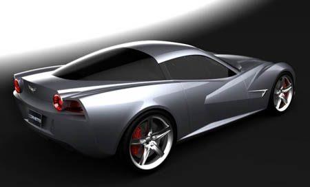 Corvette C7 design study