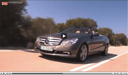 Mercedes-Benz E500 cabrio