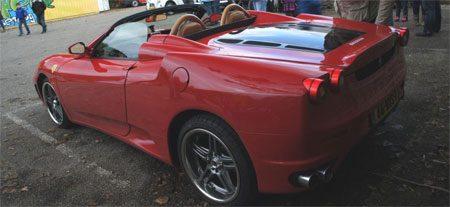 Ferrari F430 replica op basis Toyota MR2 op Autojunk.nl