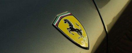 Ferrari 612 Scaglietti badge