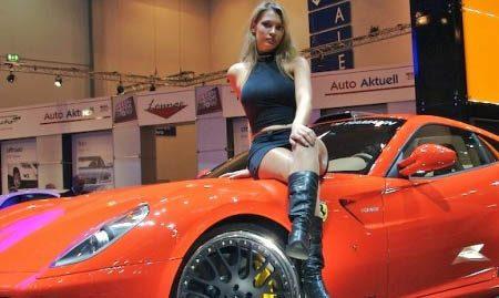 Ferrari babe